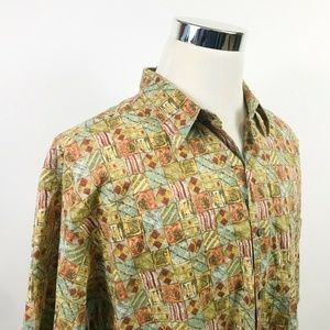 Tori Richard Mens 2XL USA Made Hawaiian Shirt